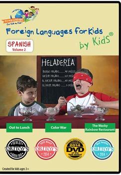 Spanish for Kids DVD Volume II
