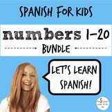 Numbers in Spanish BUNDLE