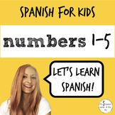 Spanish for Kids | Numbers 1-5 in Spanish