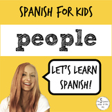 Spanish for Kids | People in Spanish