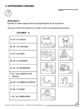 Spanish for Kids: Thematic Lessons