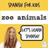Spanish for Kids | Zoo Animals