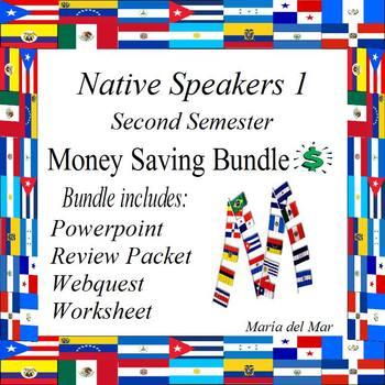 Spanish for Native Speakers (second semester) curriculum