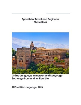 Spanish for Travel and Beginners Phrase Book