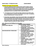 Spanish for heritage speakers - COURSE OUTLINE for a first high school course