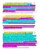 Spanish for heritage speakers - text evidence practice #2 - FREE