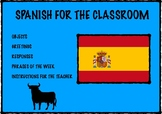 Spanish for the classroom (beginners)