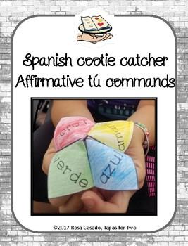 Spanish fortune teller Affirmative Tu commands