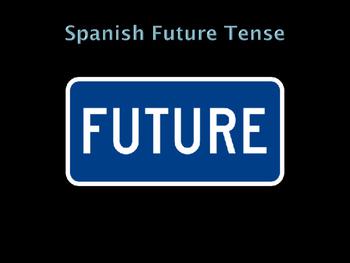 Spanish future tense