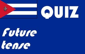 Spanish future tense quiz or worksheet
