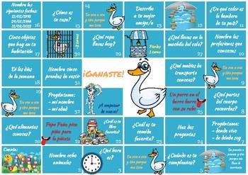 Spanish Game For Kids Juego En Espanol Para Ninos Tpt
