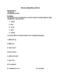 Spanish greetings and spelling with the alphabet worksheets
