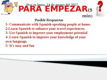 Spanish greetings, good-byes and polites phrases