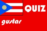 Spanish gustar quiz or worksheet distance learning