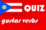 Spanish gustar type verbs quiz or worksheet distance learning