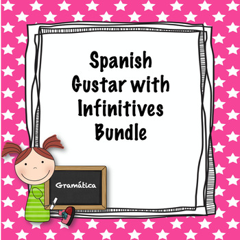Spanish gustar with infinitive bundle