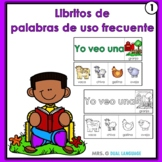 Spanish high frequency words little books