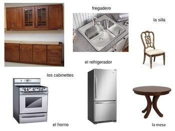 Spanish household items