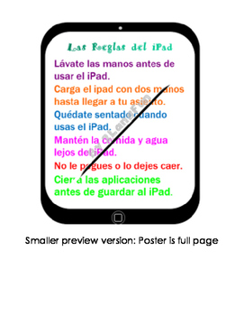 Spanish iPad Rules