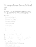 Spanish ideal roommate speaking activity with chores and gustar verbs
