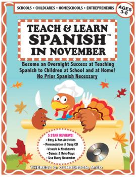 Teach & Learn Spanish™ in November