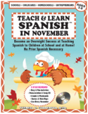 Teach & Learn Spanish™ in November