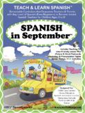 Spanish in September Lesson & CD (Ages 3-8)