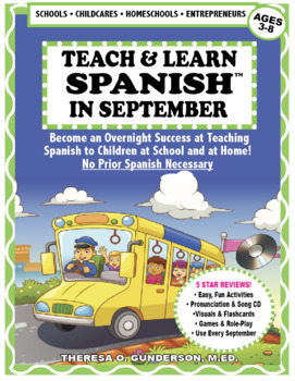 Spanish in September Lesson & CD (Ages 3-8) Digital Download