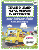 Teach & Learn Spanish™ in September