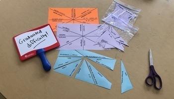 Spanish indefinite and negative vocab puzzles