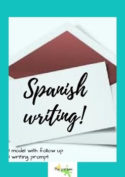 Spanish informal letter