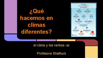 Spanish Weather Vocab Writing Activity