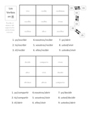 "Spanish ""ir"" Verb Activities - Magic Squares"