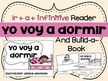 Spanish ir + a + infinitive Reader & Build-A-Book ~ Yo voy