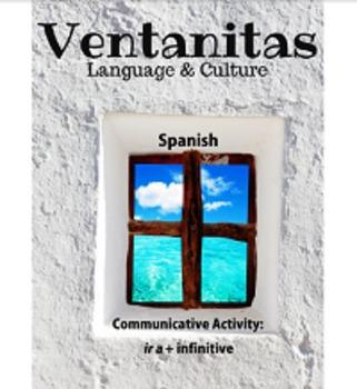 "Spanish ""ir a + infinitive"" Speaking Activity"