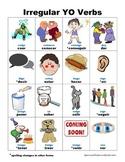 Spanish Irregular YO Verbs PICTURE Notes SET