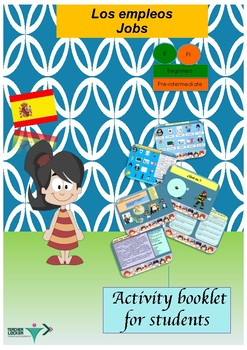 Spanish jobs, los empleos booklet for beginners