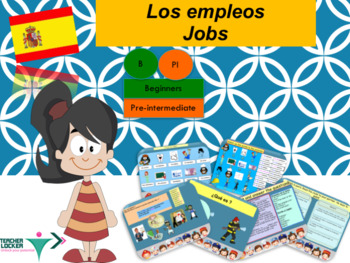 Spanish jobs, los empleos full lesson for beginners