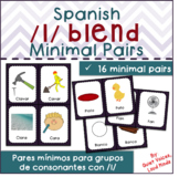 Spanish /l/ Blend Minimal Pairs