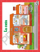 """Spanish learning poster: """"La casa"""" house rooms & furniture elementary Spanish"""