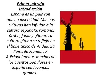 Spanish legends (Compare and contrast activity)