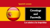 Spanish lesson: Greetings and farewells (exercise included)