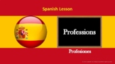 Spanish lesson: Professions with exercise and answers
