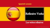 Spanish Lesson : Reflexive verbs (Exercises and Answers included)