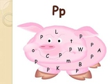 Spanish letter of the week PPT  P   letra de la semana PPT P