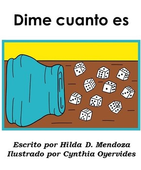 Spanish leveled reader book to teach the letter Dd for 2nd grade: Dime cuanto es