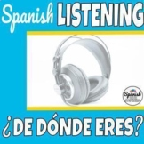 Spanish listening comprehension: Ser and origin