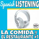 Spanish listening practice: foods (la comida)