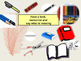 Spanish classroom objects, en la classe PPT for beginners