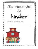 Spanish memory book